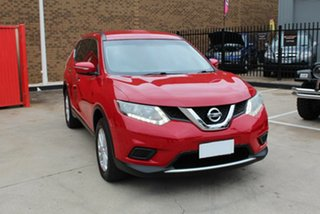 2014 Nissan X-Trail T32 TS (FWD) Red Continuous Variable Wagon.