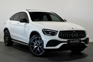 2020 Mercedes-Benz GLC-Class C253 800+050MY GLC43 AMG Coupe SPEEDSHIFT TCT 4MATIC White 9 Speed.
