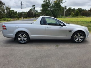 2011 Holden Ute VE Series II Omega Silver Automatic Utility.