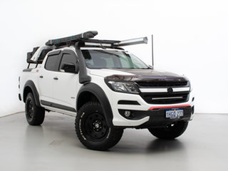 2016 Holden Colorado RG MY17 Z71 (4x4) White 6 Speed Automatic Crew Cab Pickup.