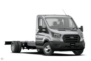 2020 Ford Transit 430E Silver 10 Speed Automatic Single Cab Cab Chassis.