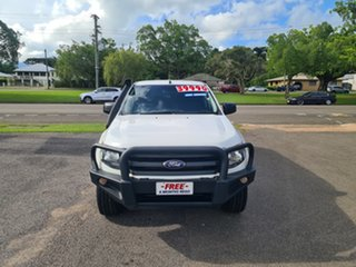 2015 Ford Ranger PX XL White 6 Speed Automatic Double Cab.