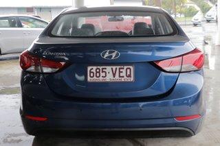 2014 Hyundai Elantra MD3 Trophy Dazzling Blue 6 Speed Sports Automatic Sedan