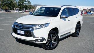 2019 Mitsubishi Pajero Sport QE MY19 Exceed White 8 Speed Sports Automatic Wagon.