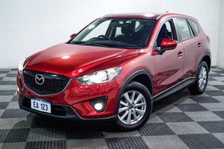 2014 Mazda CX-5 KE1031 MY14 Maxx SKYACTIV-Drive AWD Sport Red/Black 6 Speed Sports Automatic Wagon.