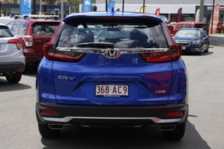 2020 Honda CR-V RW MY21 VTi FWD X Blue 1 Speed Constant Variable Wagon