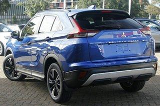 2021 Mitsubishi Eclipse Cross YB MY21 LS AWD Lightning Blue 8 Speed Constant Variable Wagon.