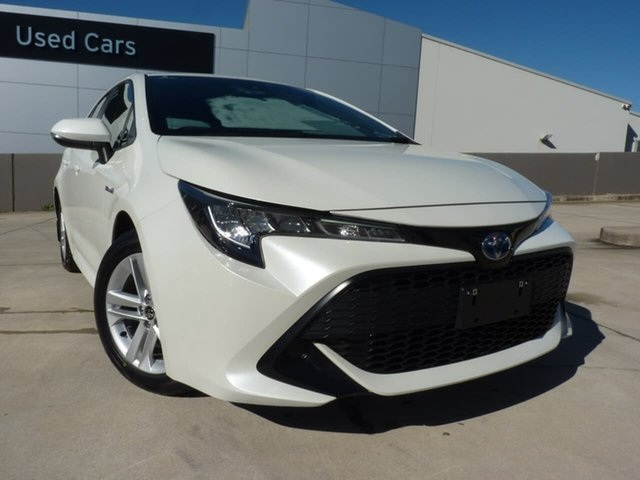 Pre-Owned Toyota Corolla ZWE211R Ascent Sport E-CVT Hybrid Blacktown, 2019 Toyota Corolla ZWE211R Ascent Sport E-CVT Hybrid Crystal Pearl 10 Speed Constant Variable
