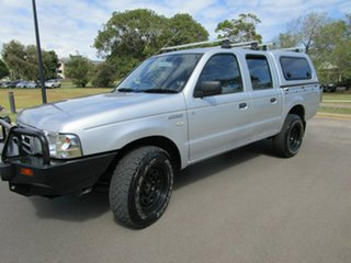 2006 Ford Courier Silver 5 Speed Manual Dual Cab