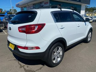 2013 Kia Sportage SL MY13 SI White 5 Speed Manual Wagon.