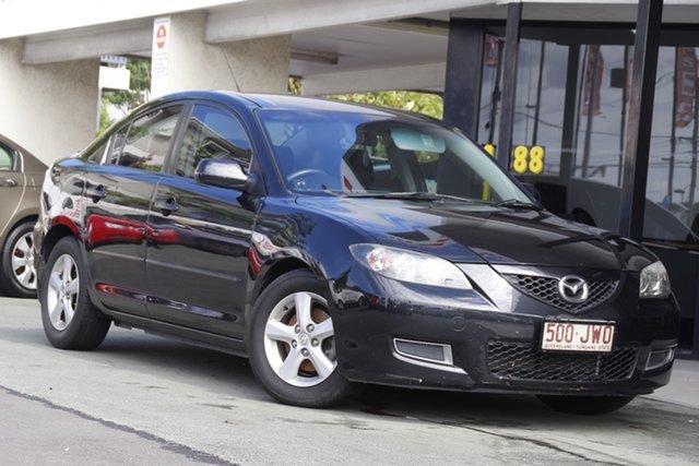 Used Mazda 3 BK10F2 MY08 Neo Sport Mount Gravatt, 2008 Mazda 3 BK10F2 MY08 Neo Sport Black 5 Speed Manual Hatchback