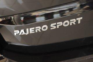 2021 Mitsubishi Pajero Sport QF MY21 GLS Pitch Black 8 Speed Sports Automatic Wagon