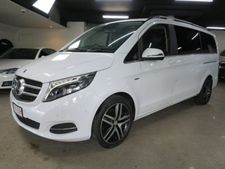 2016 Mercedes-Benz V-Class 447 V250 d 7G-Tronic + Avantgarde White 7 Speed Sports Automatic Wagon.