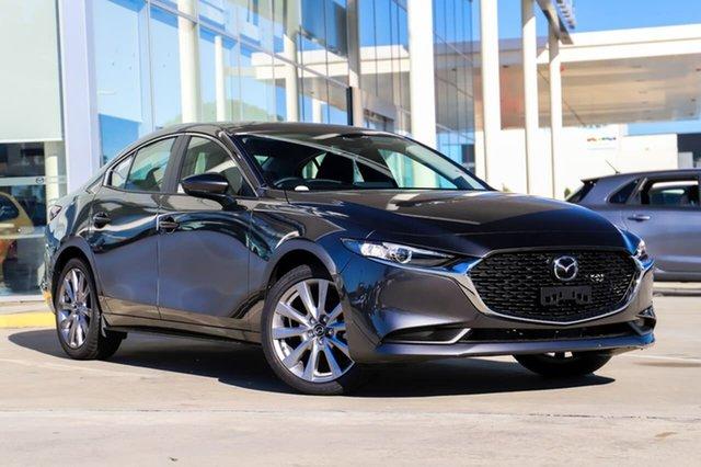 New Mazda 3 BP G20 Evolve Kirrawee, 2021 Mazda 3 BP G20 Evolve Machine Grey 6 Speed Automatic Sedan