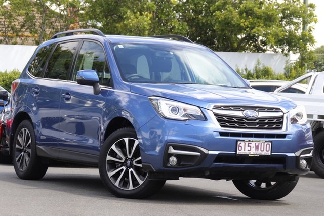 Used Subaru Forester S4 MY16 2.0D-S CVT AWD Mount Gravatt, 2016 Subaru Forester S4 MY16 2.0D-S CVT AWD Quartz Blue 7 Speed Constant Variable Wagon