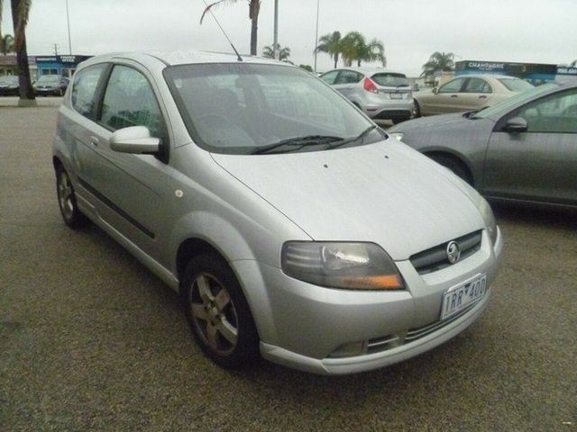 Used Holden Barina TK MY07 Moorabbin, 2007 Holden Barina TK MY07 Silver 5 Speed Manual Hatchback