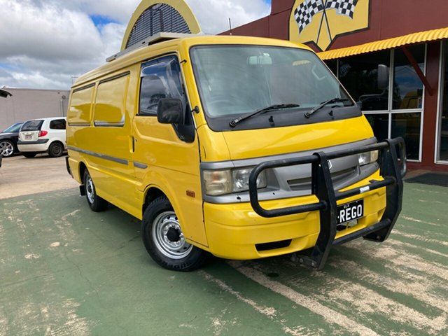 Used Mazda E2000 E LWB Toowoomba, 2000 Mazda E2000 E LWB Yellow 5 Speed Manual Van