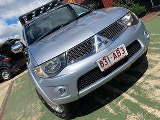 2015 Mitsubishi Triton MN MY15 GLX-R Double Cab Silver 5 Speed Manual Utility.