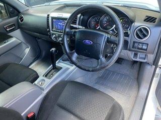 2011 Ford Ranger PK XLT Crew Cab White 5 Speed Automatic Utility