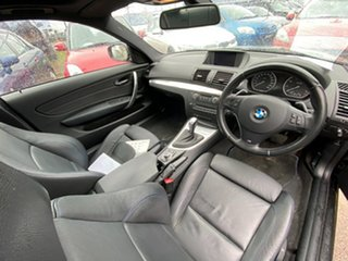 2013 BMW 1 Series E82 LCI MY1112 125i Steptronic Black 6 Speed Sports Automatic Coupe
