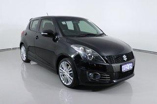 2013 Suzuki Swift FZ MY13 Sport Black 6 Speed Manual Hatchback.