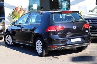 2017 Volkswagen Golf VII MY17 92TSI DSG Black 7 Speed Sports Automatic Dual Clutch Hatchback.