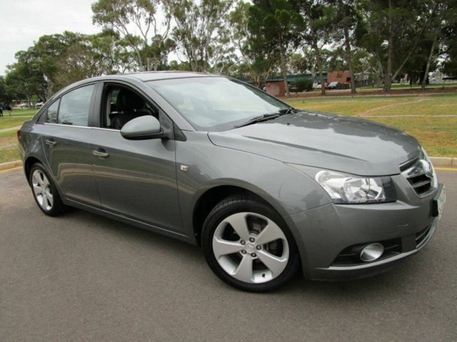 Used Holden Cruze JG CDX Glenelg, 2009 Holden Cruze JG CDX Grey 5 Speed Manual Sedan