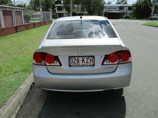 2008 Honda Civic 8th Gen MY08 Hybrid Silver 1 Speed Constant Variable Sedan Hybrid