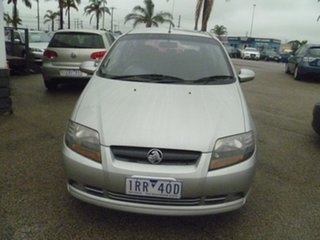 2007 Holden Barina TK MY07 Silver 5 Speed Manual Hatchback.