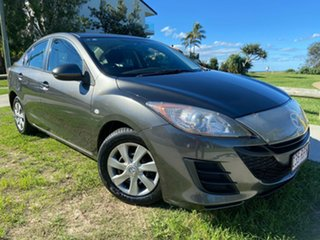 2011 Mazda 3 BL10F1 MY10 Neo Grey 6 Speed Manual Sedan.