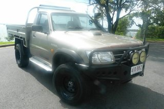 2006 Nissan Patrol GU II ST Gold 5 Speed Manual Cab Chassis.