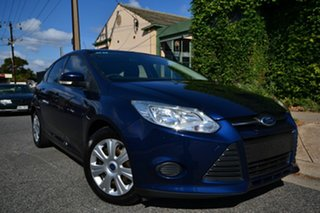 2011 Ford Focus LW Ambiente Blue 6 Speed Automatic Hatchback.