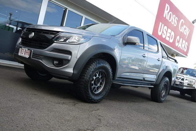 Demo Holden Colorado RG MY18 LS Pickup Crew Cab Bundaberg, 2018 Holden Colorado RG MY18 LS Pickup Crew Cab Grey 6 Speed Sports Automatic Utility