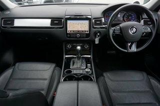 2013 Volkswagen Touareg 7P MY14 150TDI Tiptronic 4MOTION Night Blue 8 Speed Sports Automatic Wagon
