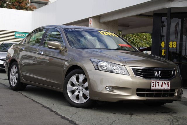 Used Honda Accord 8th Gen VTi Mount Gravatt, 2008 Honda Accord 8th Gen VTi N1 5 Speed Sports Automatic Sedan