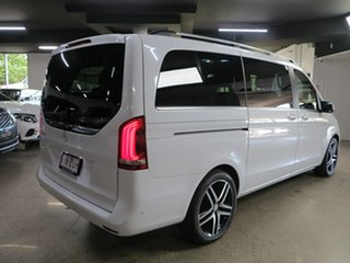 2016 Mercedes-Benz V-Class 447 V250 d 7G-Tronic + Avantgarde White 7 Speed Sports Automatic Wagon