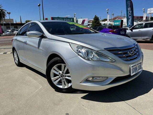 Used Hyundai i45 YF MY11 Active Victoria Park, 2012 Hyundai i45 YF MY11 Active Silver 6 Speed Automatic Sedan