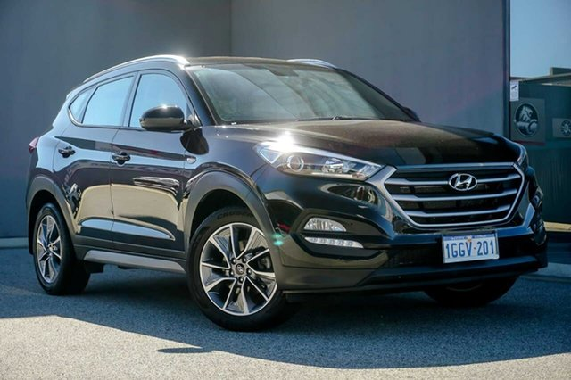 Used Hyundai Tucson TL MY18 Active X 2WD Osborne Park, 2017 Hyundai Tucson TL MY18 Active X 2WD Black 6 Speed Sports Automatic Wagon