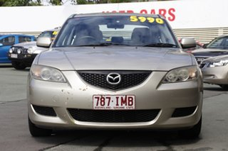 2005 Mazda 3 BK10F1 Maxx Silver 5 Speed Manual Sedan