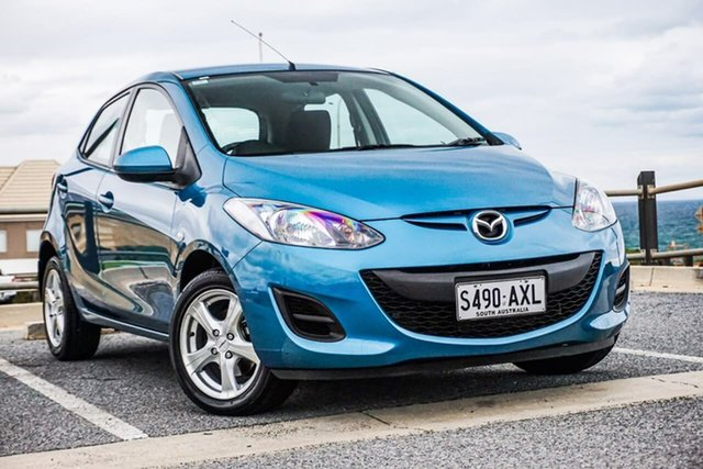Used Mazda 2 DE10Y2 MY13 Neo Christies Beach, 2013 Mazda 2 DE10Y2 MY13 Neo Blue 4 Speed Automatic Hatchback