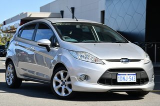 2011 Ford Fiesta WS Zetec Silver 5 Speed Manual Hatchback.