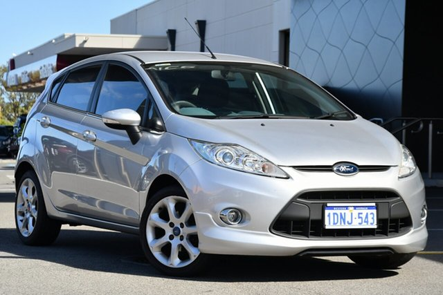Used Ford Fiesta WS Zetec Clarkson, 2011 Ford Fiesta WS Zetec Silver 5 Speed Manual Hatchback