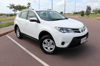 2015 Toyota RAV4 ASA44R GX AWD Glacier White 6 Speed Automatic Wagon.