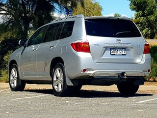 2008 Toyota Kluger GSU45R Grande AWD Silver 5 Speed Sports Automatic Wagon