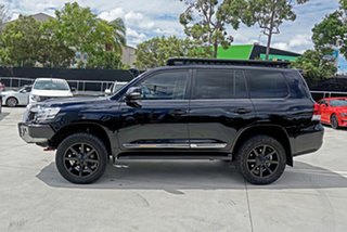 2015 Toyota Landcruiser VDJ200R Sahara Black 6 Speed Sports Automatic Wagon