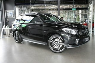 2018 Mercedes-Benz GLE-Class W166 MY808+058 GLE43 AMG 9G-Tronic 4MATIC Black 9 Speed.