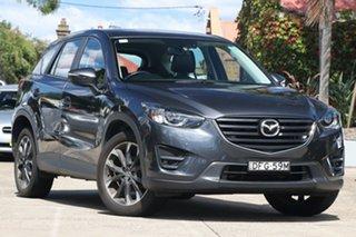 2016 Mazda CX-5 MY15 GT (4x4) Meteor Grey 6 Speed Automatic Wagon.