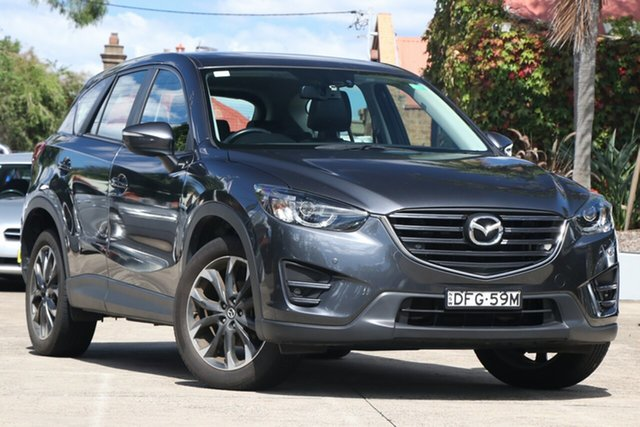Pre-Owned Mazda CX-5 MY15 GT (4x4) Mosman, 2016 Mazda CX-5 MY15 GT (4x4) Meteor Grey 6 Speed Automatic Wagon
