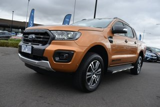 2020 Ford Ranger PX MkIII 2020.75MY Wildtrak Orange 10 Speed Sports Automatic Double Cab Pick Up