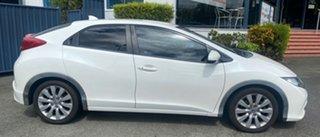 2012 Honda Civic 9th Gen VTi-S White 5 Speed Sports Automatic Hatchback.